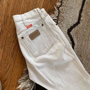 High Waisted Vintage Wrangler Jeans